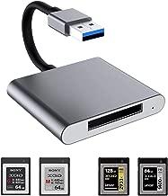 XQD Card Reader, USB Card Reader, 5Gpbs Super Speed USB 3.0 Memory Card Adapter, Aluminum..