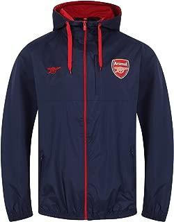Arsenal Football Club Official Soccer Gift Mens Shower Jacket Windbreaker