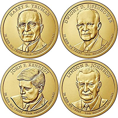 2015 P Presidential Dollar 4-Coin P Mint Uncirculated