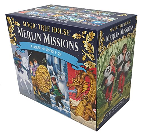 Compare Textbook Prices for Magic Tree House Merlin Missions Books 1-25 Boxed Set Magic Tree House R Merlin Mission Box Edition ISBN 9781524765248 by Osborne, Mary Pope