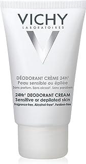 Vichy 24-Hour Deodorant Cream for Sensitive Skin, 1.35 Fl. Oz.