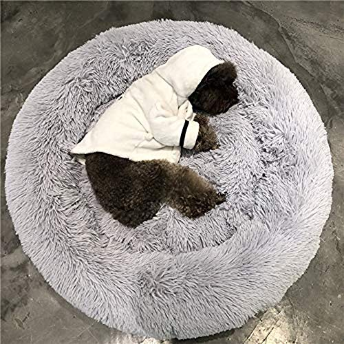 XYSQWZ Haustiere Etagenbetten Hund Extra Große Waschbare Bequeme Donut Cuddler Haustier Kissen Mit Weichen Zwinger Schlafsofa Für
