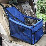 Ducomi DogSit - Seggiolino Auto per Cane - Coprisedile Singolo per Cani di Piccola e Media Taglia - Telo Impermeabile per Proteggere i Sedili della Vettura - Dotato di Cinghie di Sicurezza (Grey)