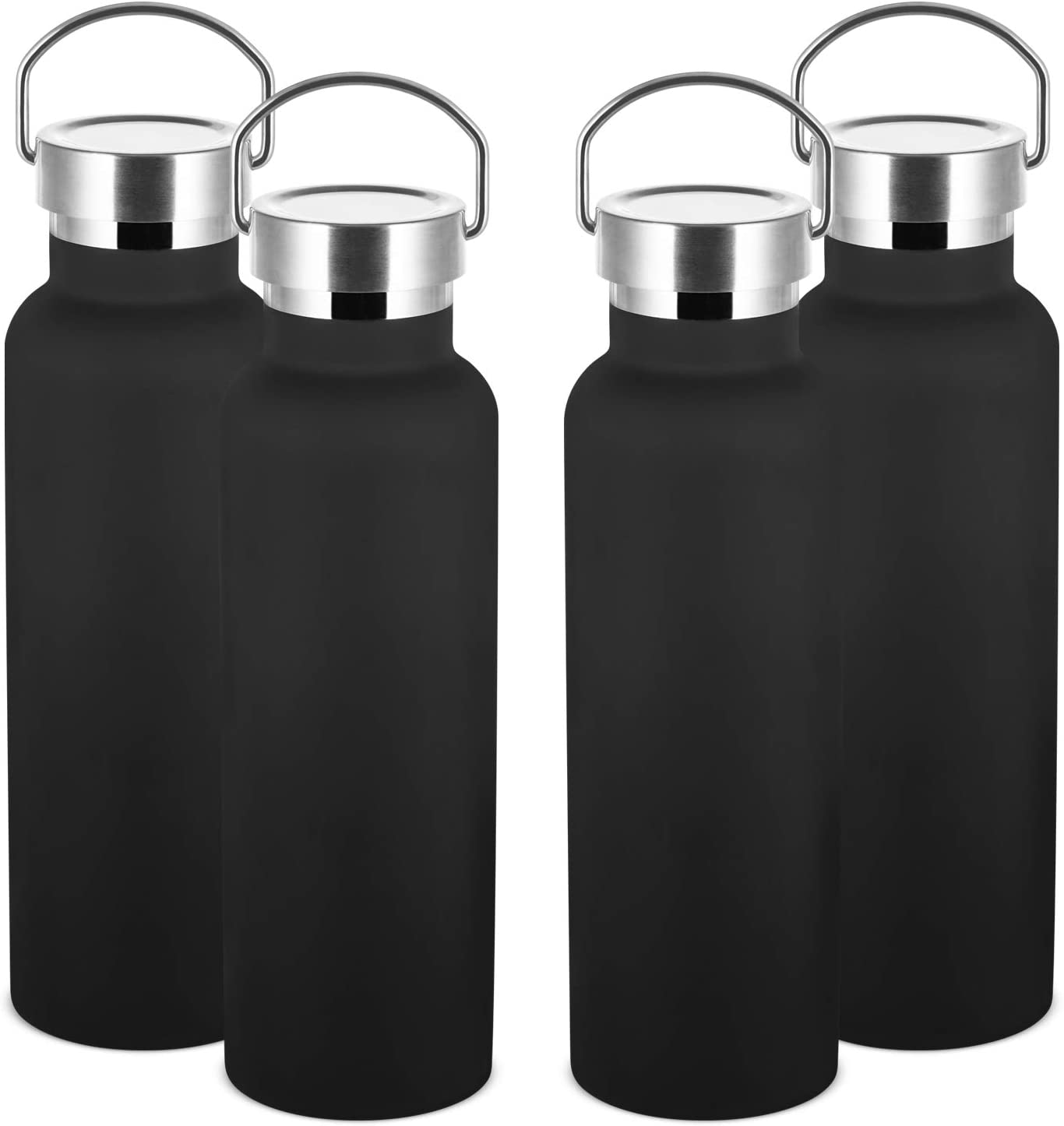 MEWAY 20oz Stainless Steel Sports Water Clearance Arlington Mall SALE Limited time 4 Bottle Bulks Pack Doub