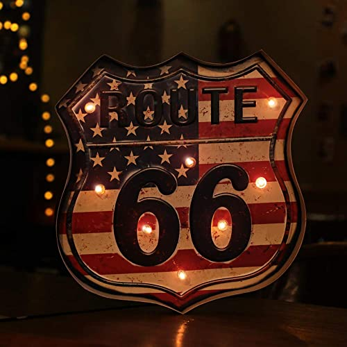 Salt /& Pepper Shaker...Route 66...Motel Sign...one of a kind