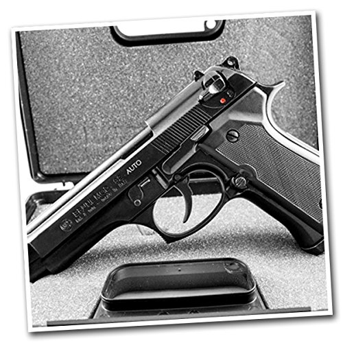 BRUNI pistola a salve BERETTA 92 FULL AUTO cal. 8 scacciacani LIBERA...