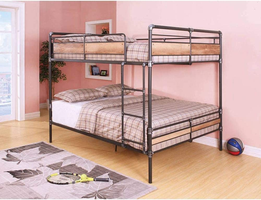 NUFR Queen Over Bunk Bed Ultra-Cheap Deals New product Structure Fr Size Metal