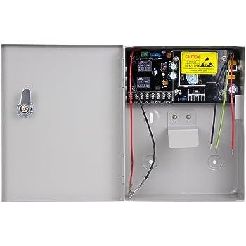 OBO HANDS Alta Calidad AC90 V/260 V 5 un Acceso Control Fuente de Alimentación Caja para Todo de Tiempo de Bloqueo de Puerta con Eléctrico: Amazon.es: Bricolaje y herramientas