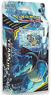 Pokemon TCG: Sun & Moon Team Up, Torrential Cannon 60-Card Theme Deck Featuring A Promo Blastoise