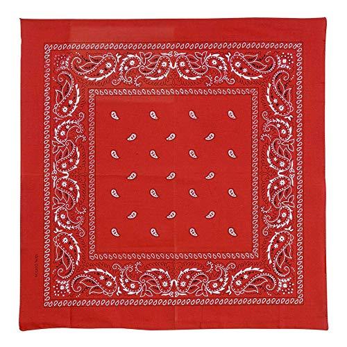 Widmann 8503R Halstuch, Unisex– Erwachsene, Rot, One Size