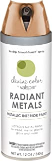 Valspar YS1040206B Devine Color Aerosol, 12 Ounce, Copper