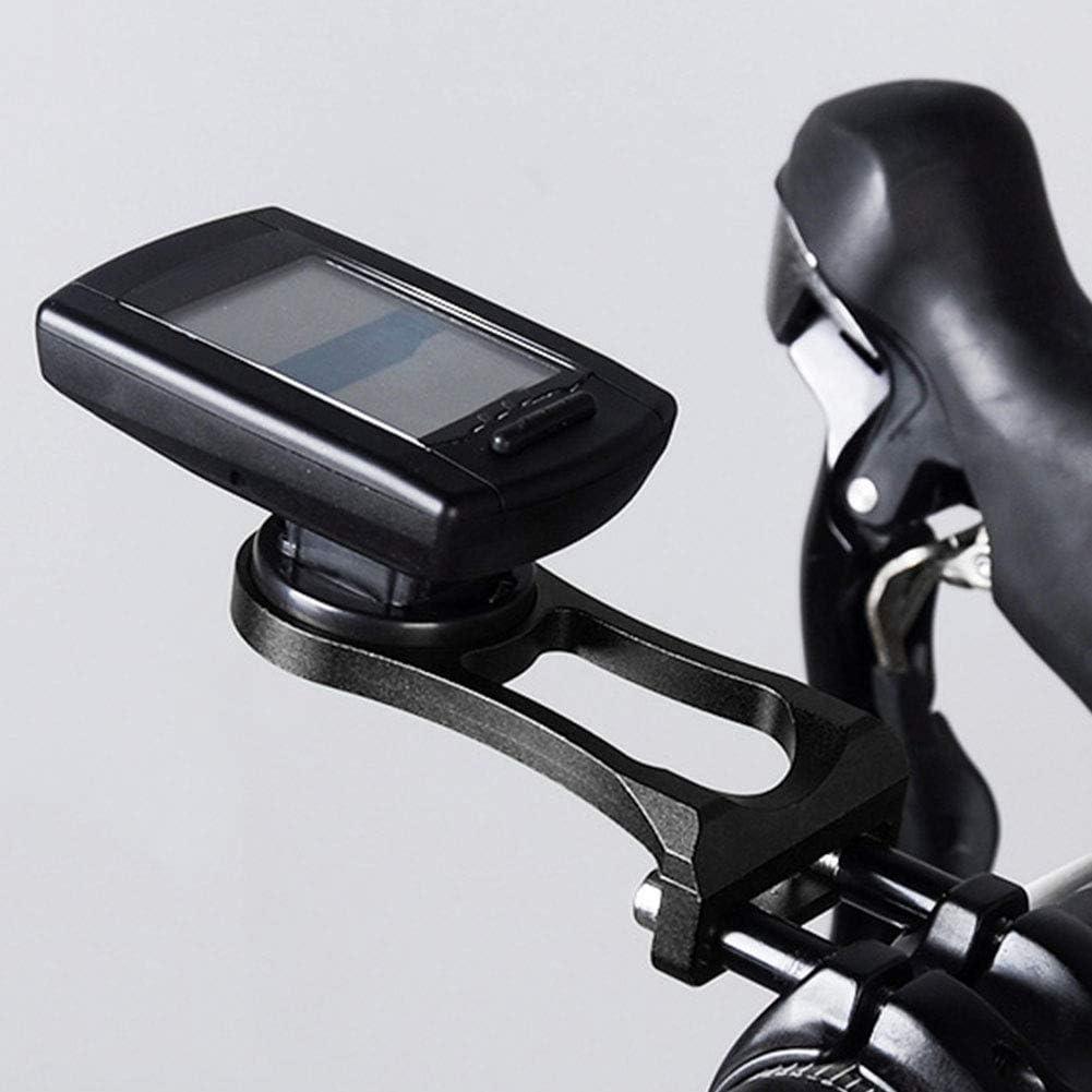 SOONHUA Bike Computer Mount Durable Metal Bike Bicycle Computer Mount GPS Bracket Holder for Garmin Cateye Bryton
