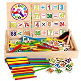 SYGA Wooden Mathematics Learning Toy Kid Educational Math Calculate Game Toys