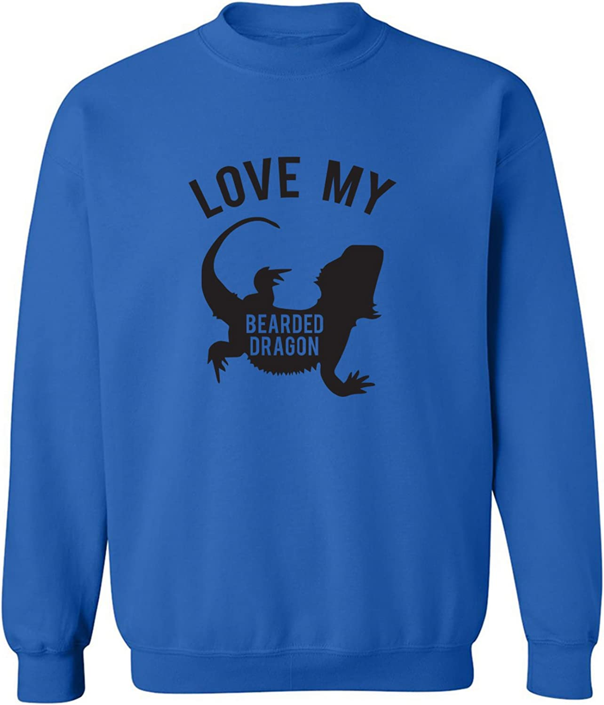 LOVE MY BEARDED DRAGON Crewneck Sweatshirt