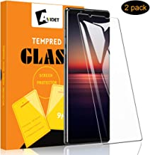 [2-Pack] AVIDET for Sony Xperia 1 II Screen Protector, HD Clear [Anti-Scratch][Bubble Free][Anti-Fingerprints] 9H Hardness...