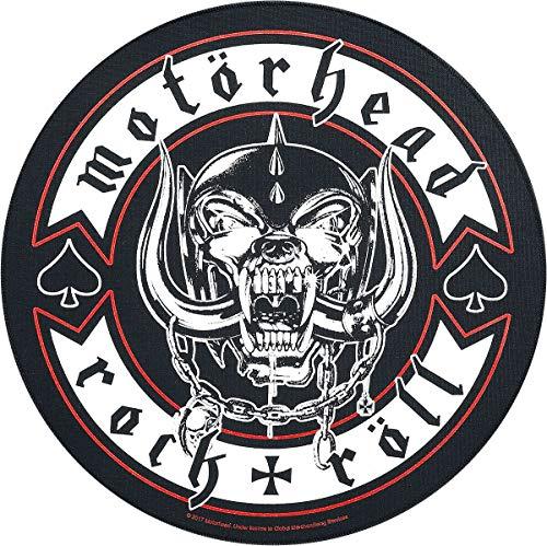 Motörhead Biker Unisex Backpatch Mehrfarbig 95% Baumwolle, 5% Polyester Band-Merch, Bands