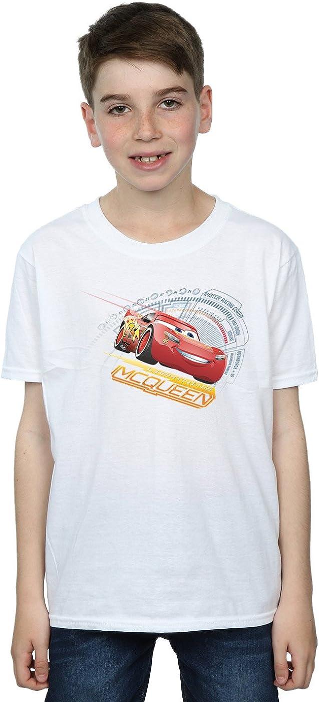 Disney Boys Cars Lightning McQueen T-Shirt 9-11 Years White