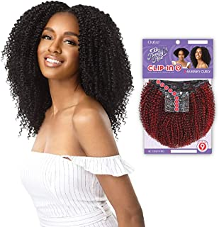 Outre Human Hair Blend Clip on Weave Premium Purple Pack Big Beautiful Hair Clip-In 4C Coily Fro 10