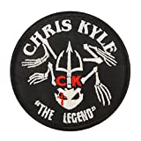 2AFTER1 Chris Kyle American Sniper The Legend Navy Seal Team DEVGRU Morale Touch Fastener Patch