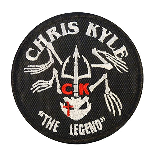 2AFTER1 Chris Kyle American Sniper The Legend Navy Seal Team DEVGRU Morale Sew Iron on Patch