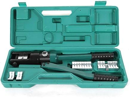 Hydraulische Presszange Crimpzange Kabelschuhe Quetschzange 16-300 mm² 16 Tonnen 16 bis 300 mm² Hydraulische Zange Presszange Quetschzange Crimpzange Hydraulisch. B07QGCP7H1 | 2019