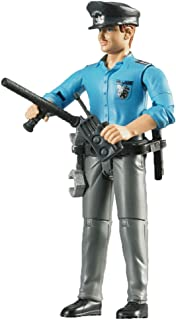 Bruder Policeman Light Skin Toy Figure with Accessories