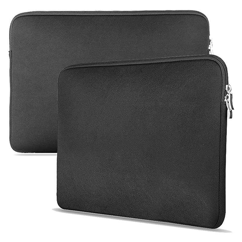 Slim Portable Laptop 15 inch Laptop Computer Case Cover Super Simple and Light for Laptop/Notebook/Netbook/Chromebook Men/Women Black