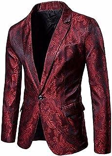 Amazon.es: Rojo - Chaquetas de traje y americanas / Trajes y ...