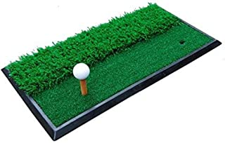 WDOPZMS Golf Mat Practice Mat - 30×60cm Golf Grass Practice Mat Training Aids for Backyard Portable Golf Driving Range Mat for Indoor Outdoor Practice Sports Outdoors