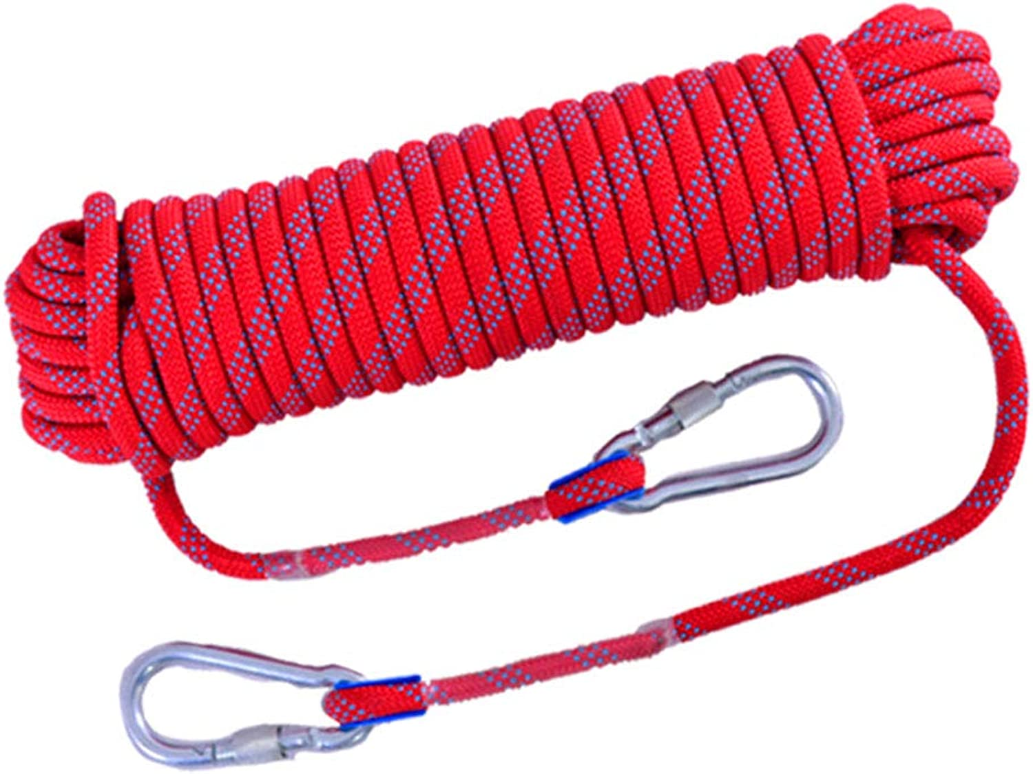 Safety Rope Climbing Rope Lifeline Rescue Rope Outdoor Truck Bundled Escape Climbing Rope Multi-Purpose Walking Equipment,A,10mm20M