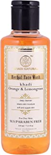 Khadi Natural Orange and Lemongrass Face Wash, 210 ml