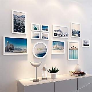 Ouqian Marco del Collage Moderna Simple Imagen de Pared de la Personalidad Creativa Marco de la Foto del Fondo de combinac...