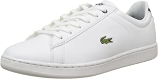 Lacoste Carnaby Evo BL 1 Kids Fashion Shoes, WHT/NVY