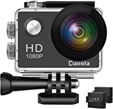 Action Camera 1080P 12MP WiFi Sport Camera 98ft Underwater Waterproof Camera -Davola DL101 with Wide-Angle Lens and Mounti...
