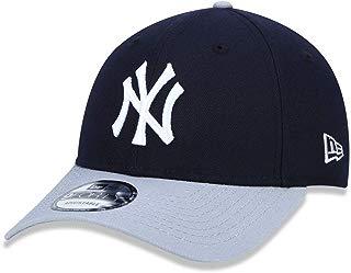 BONE 940 NEW YORK YANKEES MLB ABA CURVA SNAPBACK MARINHO NEW ERA
