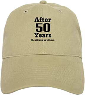 87c550bf CafePress - 50th Anniversary Funny Quote Cap - Baseball Cap with Adjustable  Closure, Unique Printed