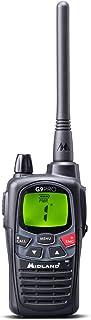 Midland C1385 - G9 Pro PMR446-69 LPD - Radio (16 Canales, Resistente al Agua, IPX4, botón de Alta y Baja Potencia, función...