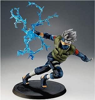 Asdfnfa Toys Model Naruto Run Kakashi Statue Anime Decorations Gift 22cm
