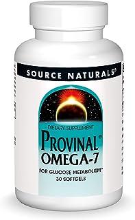Source Naturals Provinal Omega-7 Metabolic Glucose Support - 30 Softgels