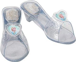 Rubie's- Frozen 2 Zapatos Jelly, Color transparente (300611OS)