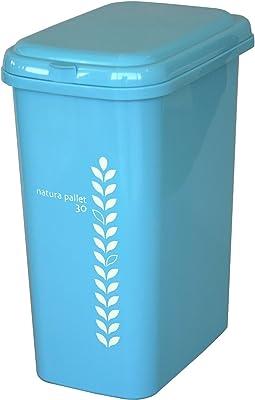 平和工業 ゴミ箱 エコペール 30L スモーキーブルー