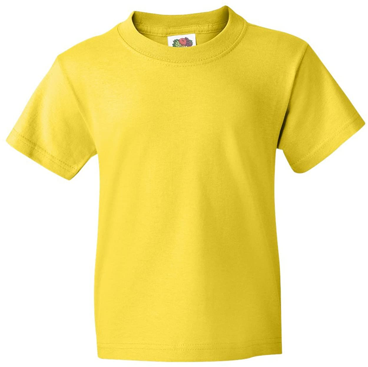 Fruit of the Loom Youth 5 oz., 100% Heavy Cotton HD T-Shirt (3931B) YELLOW
