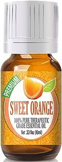 Sweet Orange Essential Oil - 100% Pure Therapeutic Grade Sweet Orange Oil - 10ml