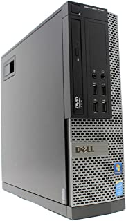 小型高性能! Windows 10 Pro 64bit デル OptiPlex 9020SF デスクトップパソコン 第4世代Core i7-4770 3.4GHz、メモリ:16GB、HDD:500GB、Radeon HD 7450、DVD-ROM 動作保証品【中古】