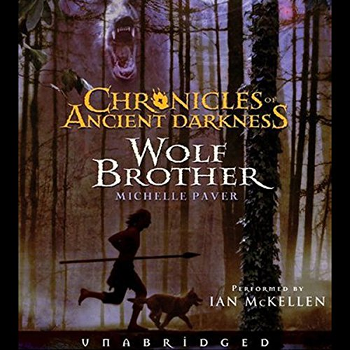 Wolf Brother audiobook cover art