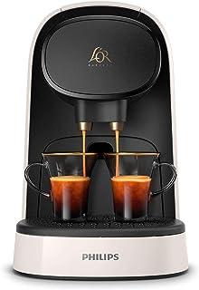 Philips Barista Cafetera Compatible con Cápsula Individual o Doble, 19 Bares Presión, depósito 1 L, Incluye Kit de degusta...