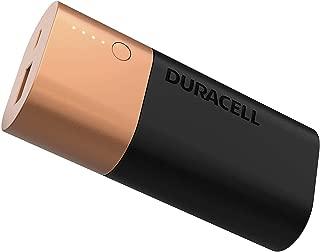 Duracell Powerbank - Cep Telefonu Şarj Aleti, 6700 mAh, Bakır/Siyah