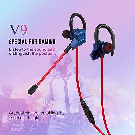 Soutege V9 in-Ear Gaming Earphones Support...