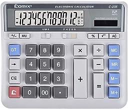 $55 » Yusuo Calculator, 12 Digit Display, Dual Power Drive, Big Button Business Finance Office School Calculator