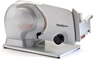 Chef's Choice 6650000 665 Professional Electric Food Slicer, 8.5-Inch, Grey